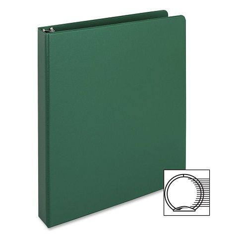 3 ring vinyl binder 2 inch ring size green 11 x 8 5 inches