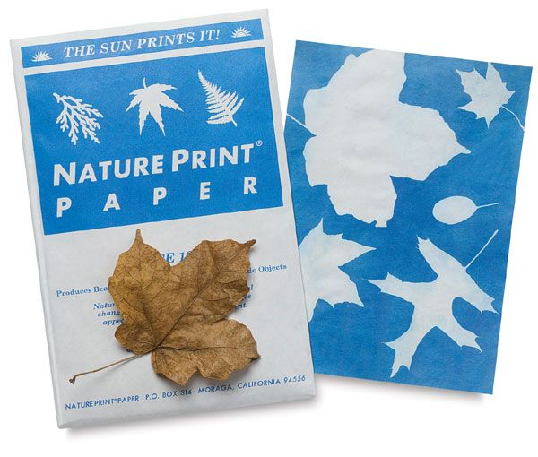 Pack of 30 Nature Print Paper 5 x 7 inch