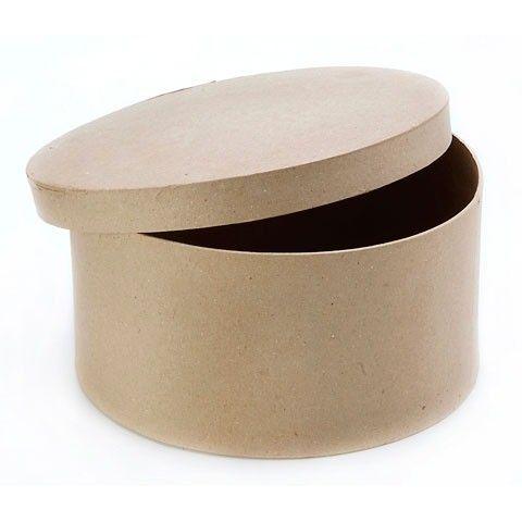 Darice Paper Mache Box 4 x 4 x 2 in Hexagon