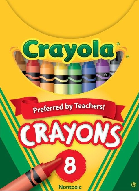 Box of 48 Assorted Colors 52-0048 Crayola Classic Color Crayons