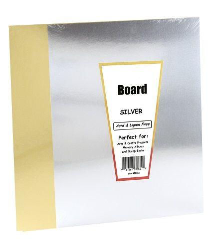 Hygloss 10 Metallic Foil Board 85 X 11 5 Gold 5 Silver