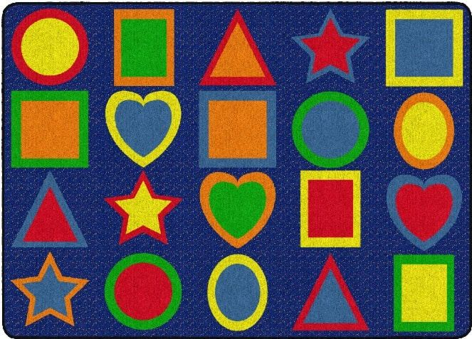 bf3347fb183 All Kinds Of Shapes Primary Colors Classroom Rug