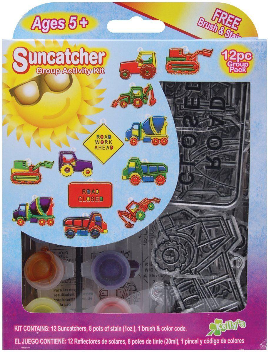 Suncatcher Group Activity Kit Dinosaur 12//Pkg