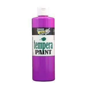 handy art 211 159 violet 16 ounce fluorescent washable tempera paint