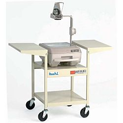Classroom Overhead Steel Cart, Adjustable 21