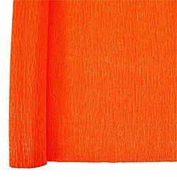 Denne Crepe Folds, 20 x 7.5-Feet, Bright Orange