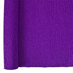 Denne Crepe Folds, 20 x 7.5-Feet, Royal Purple
