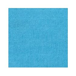 Denne Crepe Folds, 20 x 7.5-Feet, Turquoise Blue