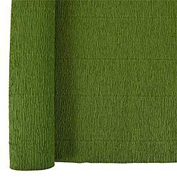 Denne Crepe Folds, 20 x 7.5-Feet, Holiday Green
