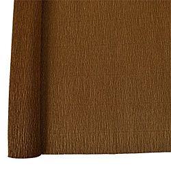 Denne Crepe Folds, 20 x 7.5-Feet,  Brown