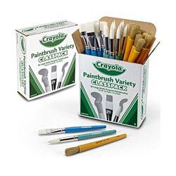 Crayola® Paintbrush Variety Classpack 36 brushes (05-0036)