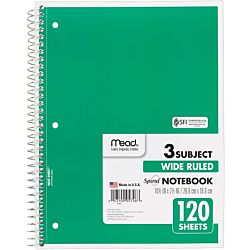 Spiral Personal 5 Subject Notebook 6