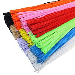 Chenille Stems Pipe Cleaners 12 Inch x 6mm 100-Piece