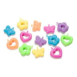 Darice Pop Beads Large Novelty Multi Pack 40 pieces per