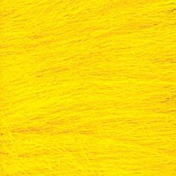 Long Pile Craft Fur - Yellow - 9 x 12 inches