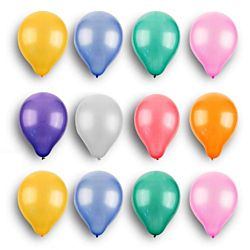 11'' Latex Solid Colors Balloons 144 package