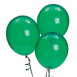 11'' Latex Emerald Green Color Balloons 144 package