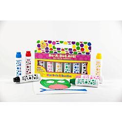 Do-A-Dot Mini Dots & Doodles - Jewel Tones - 6 Pack Dot Markers - DAD-106