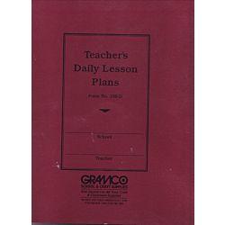 Teachers Duplicate Plan Book, 6 periods, 9 1⁄2