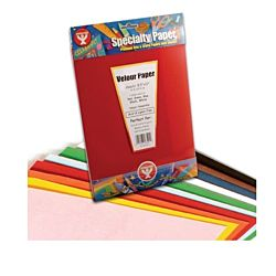 Velour Paper Assorted Colors - 8.5