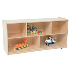Wood Designs Children Single Storage Natural, 23.5