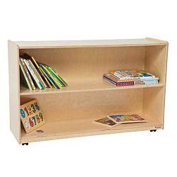 Wood Designs Children Tip-Me-Not Shelf Storage Natural wood, 30