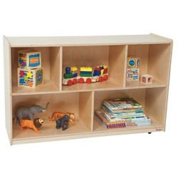Wood Designs Children Single Storage Natural, 30