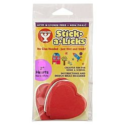Hygloss Gummed Paper Shape Stick-A-Licks 2