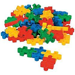 Puzzle-shaped Block Set (50 Pcs) 2 1/4