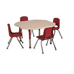 Children's Adjustable Activity Table - Clover 48