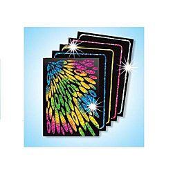 Melissa & Doug Scratch Art Scratch & Sparkle Artist Trading Cards  1411