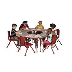 Children's Adjustable Activity Table - Learning 18