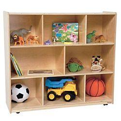 Wood Designs Children Single Storage Natural, 42