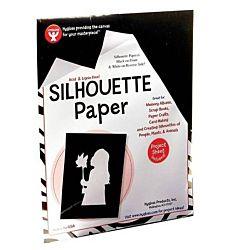 Hygloss Silhouette Paper - 8.5