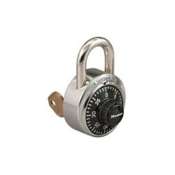 Master Lock 1525 Combination Padlock with Key Control Case Of 100