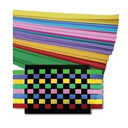 Hygloss Weaving Strips - Weaving Kit (250 Strips, 25 Sheets 8.5