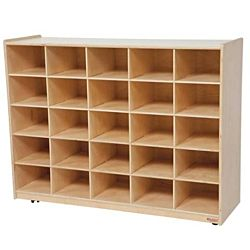 Wood Designs 25 Tray Storage Natural without Trays, WD-16009