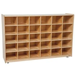Wood Designs 30 Tray Storage Natural without Trays, WD-16039