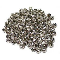 100 Piece Silver Jingle Bells 1/2 - Inch