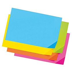 Pacon Tagboard Paper, Assorted Super Bright Colors, 12-Inches by 18-Inches, 100-Count, 1712