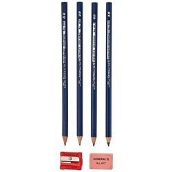 Graphite Drawing Pencils HB, 2B, 4B, 6B, 2H, 3H, 4H, 6H