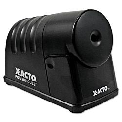 X-ACTO PowerHouse Desktop Heavy-duty Electric Pencil Sharpener, Black ,1799