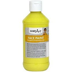 Handy Art 8 oz. Washable Face Paint  - Yellow 556-010