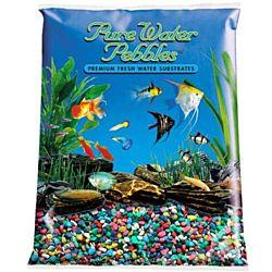 Multi Colors Aquarium Natural Gravel,  Acrylic Color - 5 LBS Bag