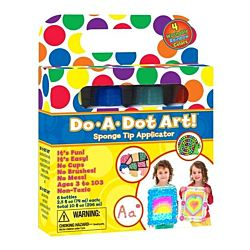 Do-A-Dot Rainbow Markers 4 Pack - DAD201