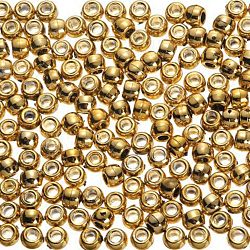 Pony Beads Acrylic Bright Gold 6 x 9mm 1000 pieces