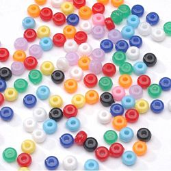Pony Beads  Acrylic  Opaque Colors 5mm 1/2 lb Big Value