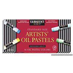 Sargent Art 16 Count Oil Pastels, Assorted  22-2019