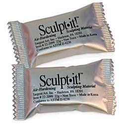 Sargent Art 22-2099 19-Gram Sculpt-It Sculpting Material, 150 Count