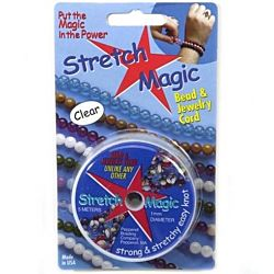 Stretch Magic 1mm Bead & Jewelry Cord-25 Meters